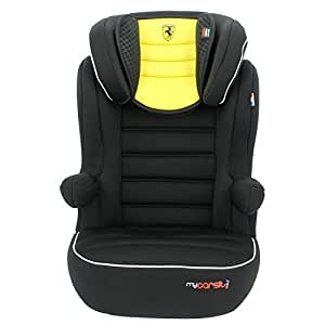 MyCarSit Ferrari Befix High Back Booster Seat for Kids, 15 to 36 kg