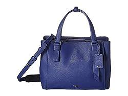 TUMI - Varek Pearl Leder Laptoptasche - 30,5 cm Computertasche für Damen und Herren, kobalt (Blau) - 125059-1216