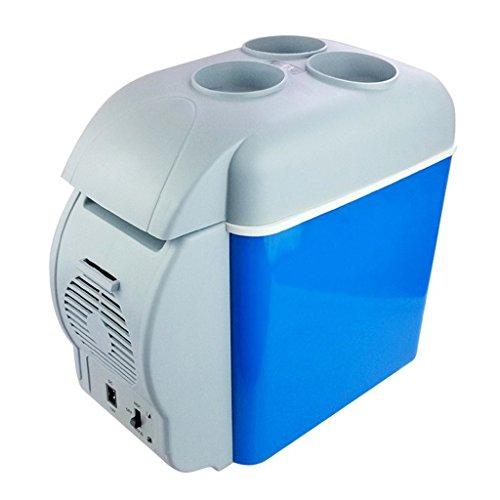 12/V glaci/ère /électrique multifonction mini frigo 6/l r/éfrig/érateur portable pour camping AUTOINBOX Frigo pour voiture noir voyage chaud et froid