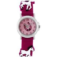 Pacific Time Niños Reloj De Pulsera Caballo Reloj de pulsera infantil niña caballo Joven Niños Relojes