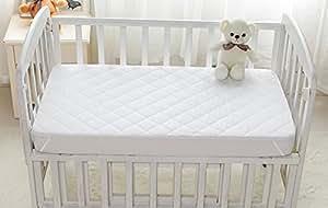Rabitat Polyester Mattress Protection Pad, 5 Layer (White, 003)