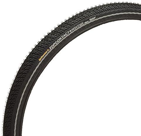 Continental Faltreifen Top Contact Winter II, Black/Black Reflex, One size, 0100714