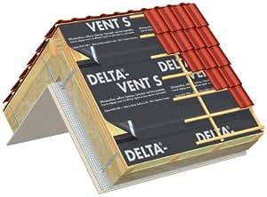 Dorken - Isolation ecran sous toiture delta-vent s - Larg. m.1,50 -