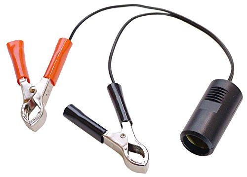 as - Schwabe Adapterleitung, Batterieklemmen Zigarettenanzünder, 12 V, 42305