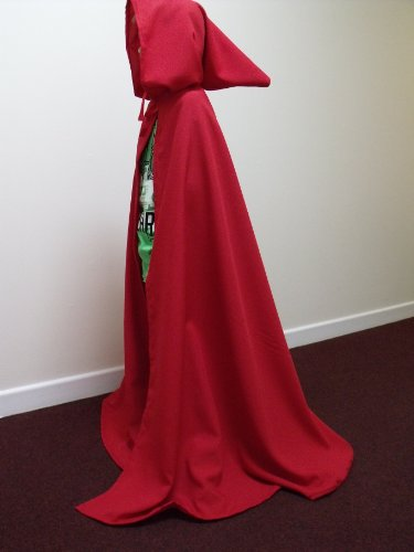 Red Childs/Childrens/Kids Longer Cloak - Legoslas/Frodo/Medieval/Lord of the rings/Elf