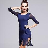 DESY Vestidos(Negro Azul Naranja,Tul Fibra de Leche,Danza Latina) -