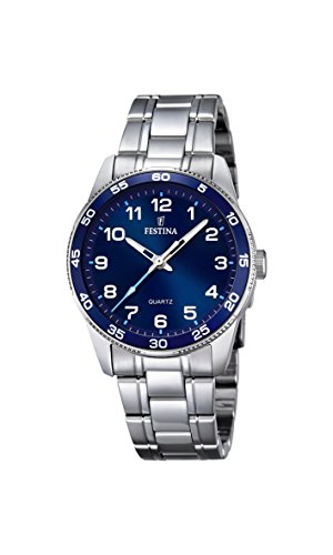 Festina Unisex-Armbanduhr Junior Collection Analog Quarz Edelstahl F16905/2