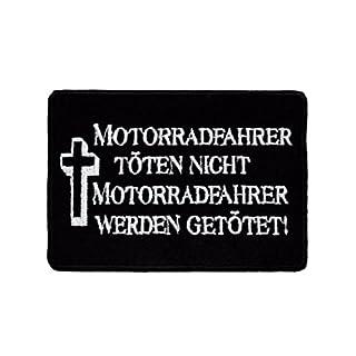 armardi b Aufnäher Motorradfahrer töten nicht