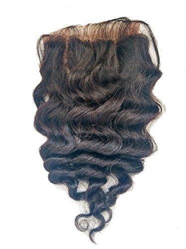 4*4 lace fermeture,fermeture des cheveux,extensions de cheveux 16\\