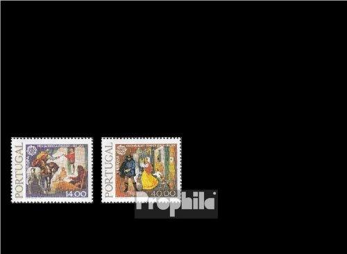 Prophila Portugal 1441y-1442y (kompl.Ausg.) 1979 Post- und Fernmeldewesen (Briefmarken für Sammler)