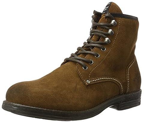 REPLAY Herren Trel Biker Boots, Braun (Camel), 44 EU