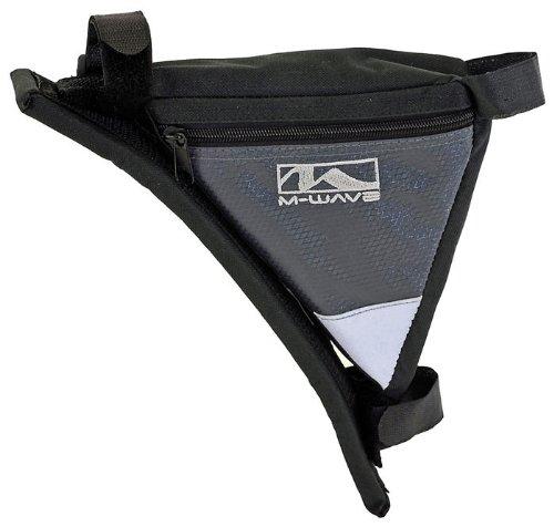 M-Wave Frame Corner Bicycle Bag - Black, 22 cm