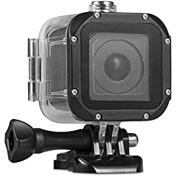 Kupton Boîtier Étanche Housse de Protection pour GoPro Hero 5 Session Boîtier Imperméable à l'eau Plongée Coque de Protection a 45m avec Support pour Go Pro Hero5 Session & Hero Session