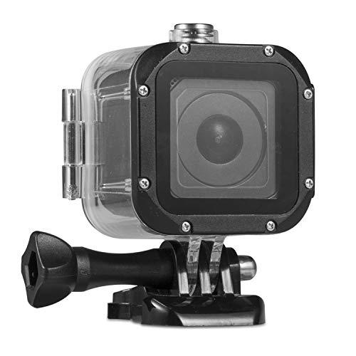 Kupton Carcasa Sumergible para GoPro Hero 5 Session Carcasa Protectora Sumergible hasta 45 m Case de Buceo Impermeable para Go Pro Hero5 Session y Hero Session