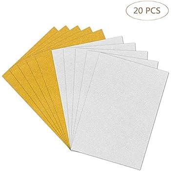 UK Wedding Card Making 30 Sheets of Premium 150gsm A4 White Craft Card Paper