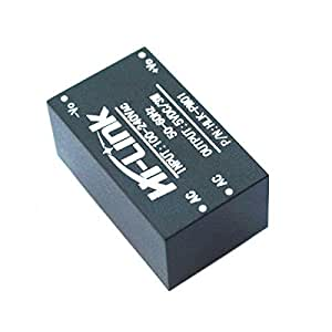 SunRobotics Hi-Link AC-DC 220V-5V Step-Down Power Supply Module (HLK-PM01, Black)