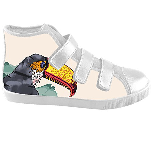Dalliy Toucan Bird Cartoon Kids canvas Footwear Sneakers Shoes Chaussures de toile Baskets C