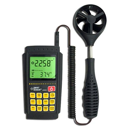 Windmesser Anemometer, Wettermonitore, Meter Luftstrom, Luftqualität, Split Windmesser Windgeschwindigkeit Thermometer Windmesser kann an den Computer angeschlossen Werden