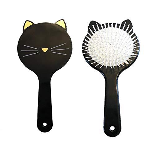 Adorable peine pelo niña diseño gato negro accesorio