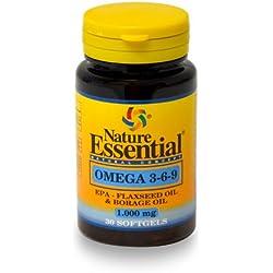Nature Essential Omega 3-6-9 1000mg - 30 Perlas