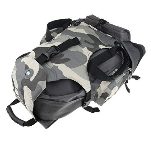 SM SunniMix Unisex Tragetasche Schlittschuhe Tasche Rollschuhe Schultertasche für Damen oder Herren - Camo