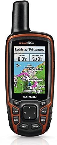 Garmin GPSMap 64s+ Topo Deutschland V7 GPS Gerät/Radcomputer mit TOPO