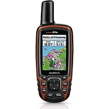 Garmin GPSMAP 64s - Navegador GPS MicroSD, color negro (importado)