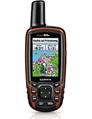 Garmin GPSMap 64s + TOPO Deutschland V6 PRO Bundle mit Live Tracking und Smart Notifications