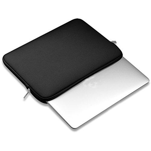 YiJee Sleeve per Laptop Impermeabile Custodia di Borsa per Portatile Caso Protettiva 11 Pollice Nero