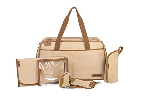 Babymoov A043569 Wickeltasche Traveller Bag, savanne -