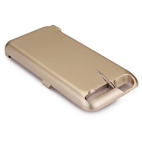 Zogin Ultra Fin Coque Batterie Externe 10000mAh pour iphone 6 Plus/6S Plus - 5.5 pouces Haute Capacité Power Case Etui Housse Batterie de secours Rechargeable Coque Chargeur de protection - Rose Or