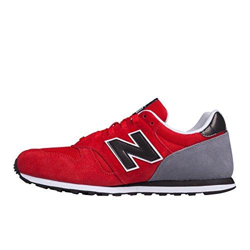 New Balance ML373 D, Baskets Basses Homme Rouge (Srr Red/Black)