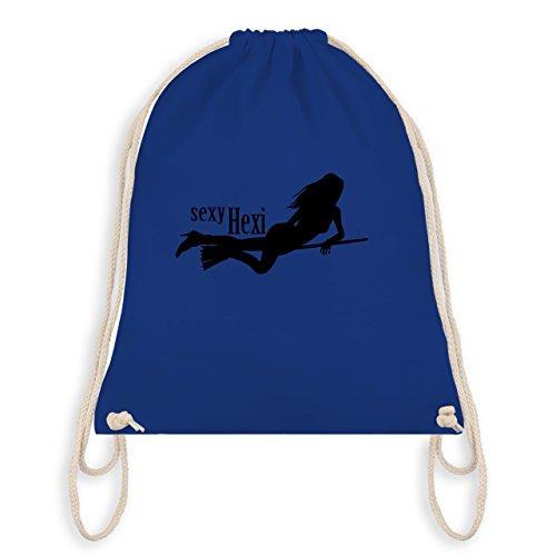 Halloween - sexy Hexy - Unisize - Royalblau - WM110 - Angesagter Turnbeutel / Gym Bag (Frau Magierin Kostüm)