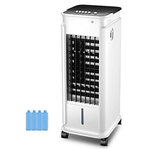YWARX Mobiles Klimagerät mit Kühlung und Heizung 60W/2 kW- 3-in-1-Klimagerät: Kühlung, Ventilation, Entfeuchtung-7 Liter Wassertank,whitemechanical