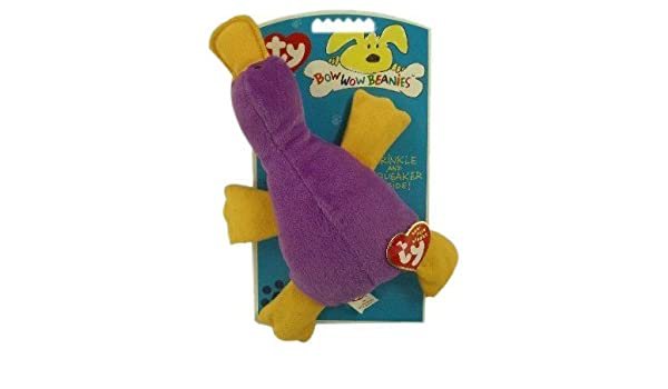 15975b7be0d Patti (Platypus) Ty Bow Wow Beanie Dog Toy  Amazon.co.uk  Toys   Games