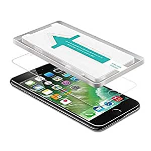 iATO iPhone 6 / 6s / 7/8 Screen Protector with EASY INSTALL KIT, Premium Tempered Glass Screen Protector (4.7 inch) for Apple iPhone 6 / 6s / 7/8 9H Hardness and Easy Bubble-Free Installation