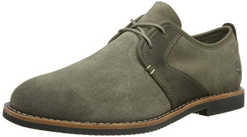 Timberland Brooklyn Park Leathe Grey, Oxfords Homme Gris (Grey)