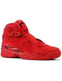 buy popular ef020 e6cba Nike Wmns Air Jordan 8 Retro Vday, Zapatillas de Deporte para Mujer