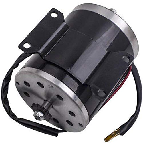 500W 24V DC Electric Brushed Motor for Scooter Go-kart Mower Tricycle 2500  RPM