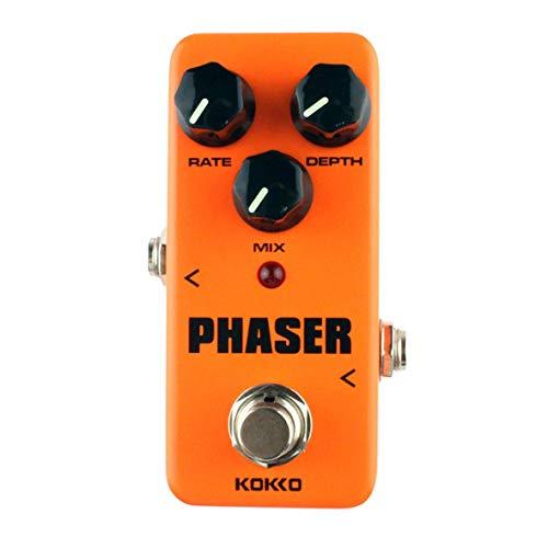 Heaviesk Mini-E-Gitarren-Effektpedal Warm Analog-Phase-Effekt-Soundprozessor True Bypass-Gitarren-Zubehör -