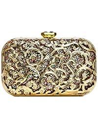 6e99e49bf0 Amazon.it  borsa con paillettes - Pochette e Clutch   Donna  Scarpe ...