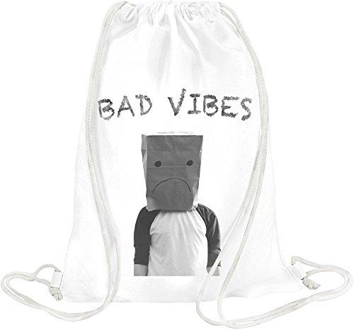 Bad Vibes Drawstring bag (Indie-vibe)