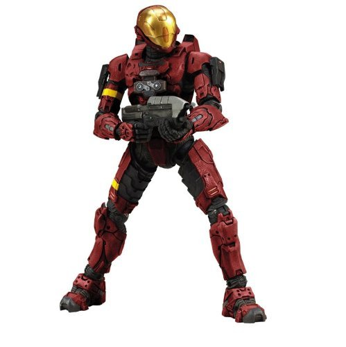 (Halo 3 Series 1 - Spartan Soldier EVA Armor (Red) by Unknown)