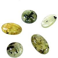 Natural Prehnite Cabochon Set Of 3 Chakra Healing Crystal, Meditation Stones, Yoga Crystals, Spirituality Stones... preisvergleich bei billige-tabletten.eu