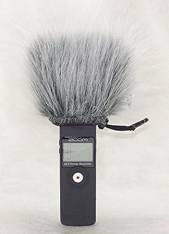 Master son extérieur pare-brise Muff–Deux Options pour enregistreur Zoom H1afin