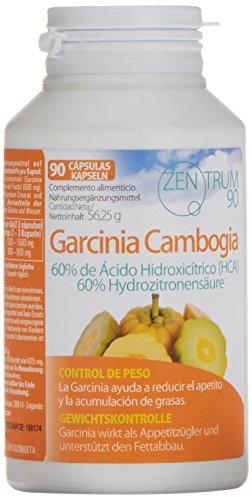 Garcinia Cambogia zum Abnehmen und als Appetitzügler - Nahrungsergänzungsmittel mit fettverbrennenden Eigenschaften zur Kombination mit gesunder Ernährung und Bewegung - 90 Kapseln