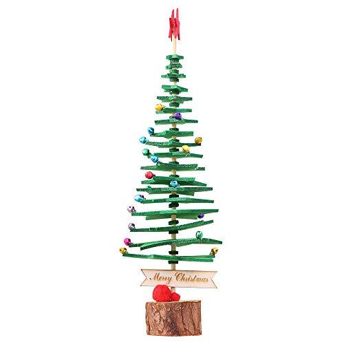 Big-Mountain -DIY Desktop Weihnachtsbaum | 33*10cm | Frohe Weihnachten Baum Schlafzimmer Schreibtisch Dekoration Spielzeug Puppe...