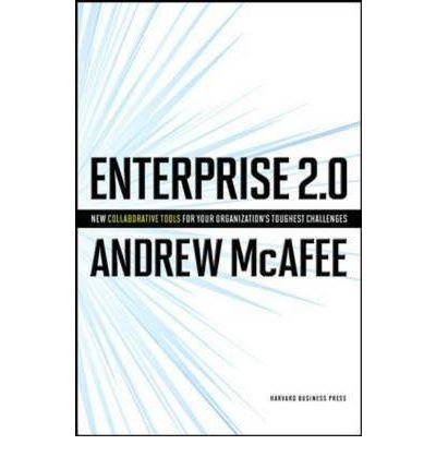 Portada del libro [(Enterprise 2.0: How to Manage Social Technologies to Transform Your Organization)] [ By (author) Andrew McAfee ] [November, 2009]