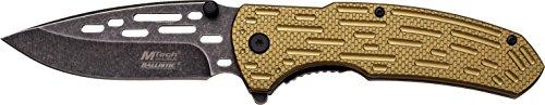 MTech USA Taschenmesser MT-A896 Serie, Messer DESIGNER GRÜN ALU Griff, scharfes Jagdmesser, Outdoormesser 9,53 cm ROSTFREI Klinge, Klappmesser für  Angeln/ Jagd - Hunter Grün Griffe