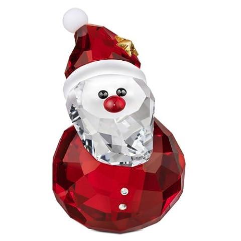 Swarovski Figurine Schaukelnder Weihnachtsmann 2.6 x 3.9 cm 1143323 (Deko-Artikel)